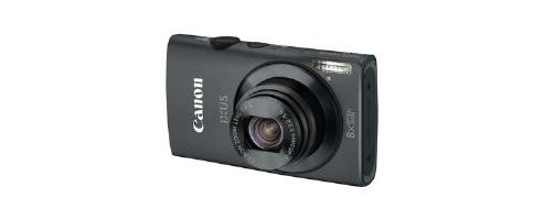 Canon Ixus 230 Black 8x optical zoom 12 MP Camera