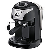 DeLonghi EC220 Coffee Machine - Black/Silver