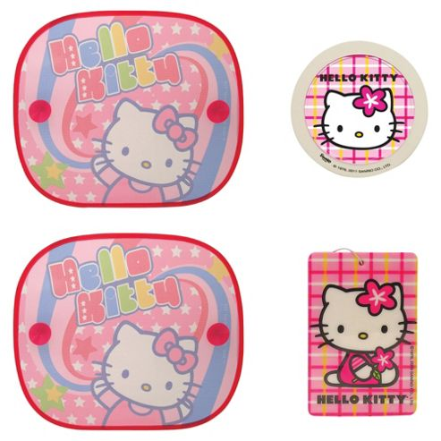 Hello Kitty Car Travel Set