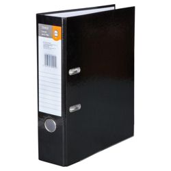 Tesco Lever Arch File,black 5 pack