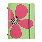 Filofax Blue Flower Pocket Domino Organisers