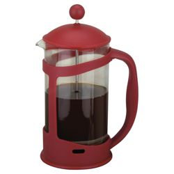 Tesco 8 Cup Cafetiere, Red