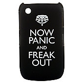 Bliss Hard Case BlackBerry 8520/9300 Now Panic and Freak Out Black