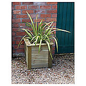 Bamburgh Wooden Square Planter
