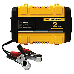 Polco 12V Smart Battery Charger - 2 amp