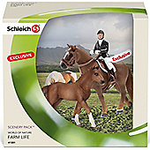 Schleich Show Jumping Scenery Pack