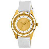 Round Face Enamel Watch Ladies