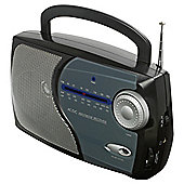 Tesco Rad 113B Black Kitchen Analogue Radio