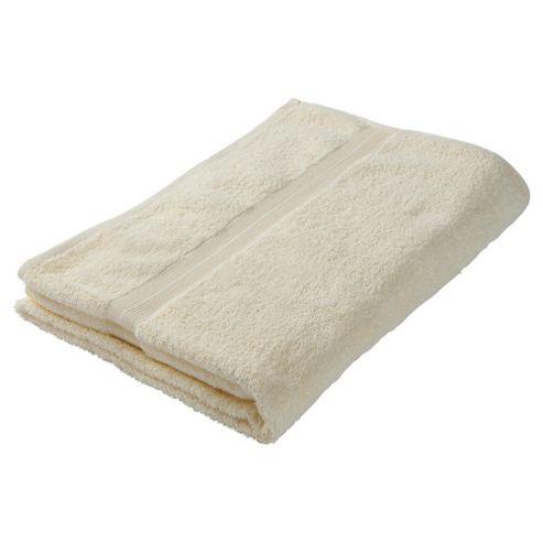 Tesco Bath Sheet Cream