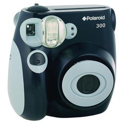 Polaroid instant film camera black