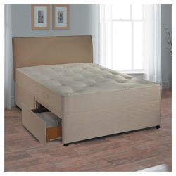 Myers Backcare Supreme Double 2 Drawer Divan Bed