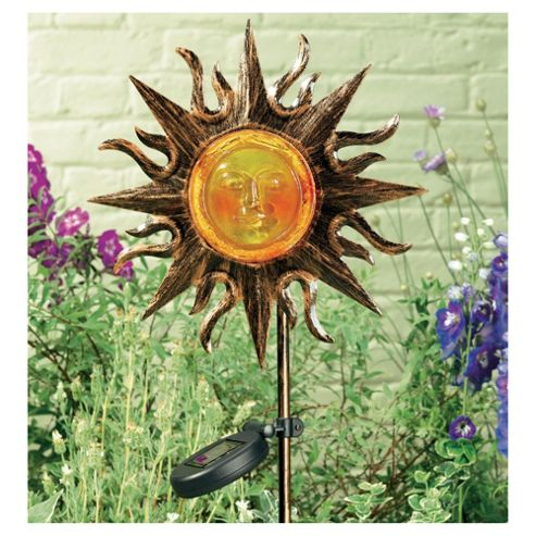 Smiling Sun Stake Light