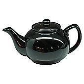 Black Teapot, Stoneware, Five Cup