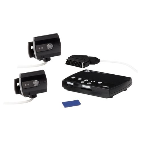 B&W Recordable Camera System, 2 x B&W Camera