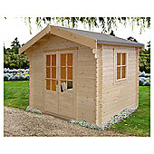 Finewood Fiston Log Cabin 8x8