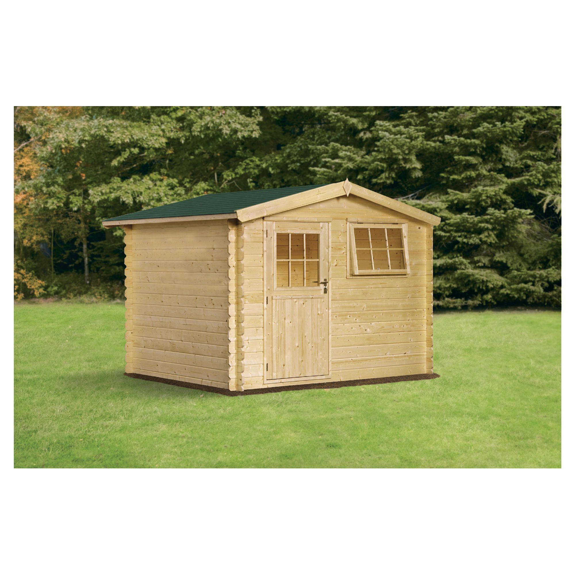 Finnlife LUMI 212  Log Cabin at Tesco Direct