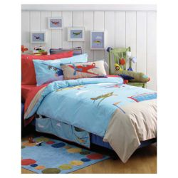 Hiccups Airshow Duvet Set Double