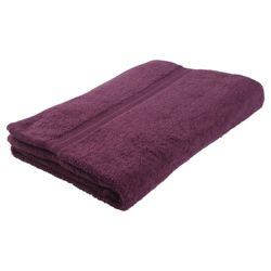 Tesco Bath Sheet Aubergine
