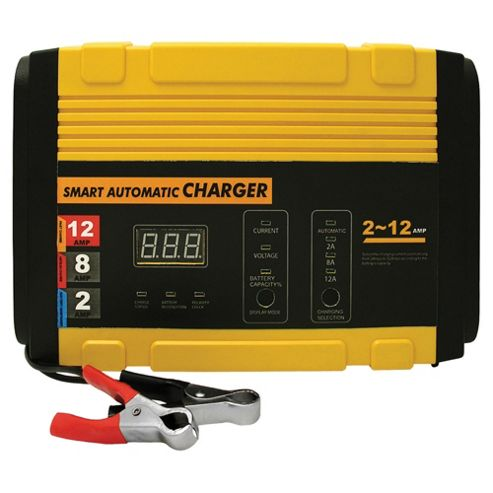 Smart battery charger, 12 AMP