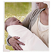 Grobag Cotton Swaddling Wrap, Pure White