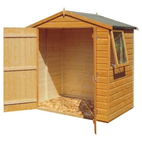 Finewood 4 x 6 Apex Shiplap Double Door Shed