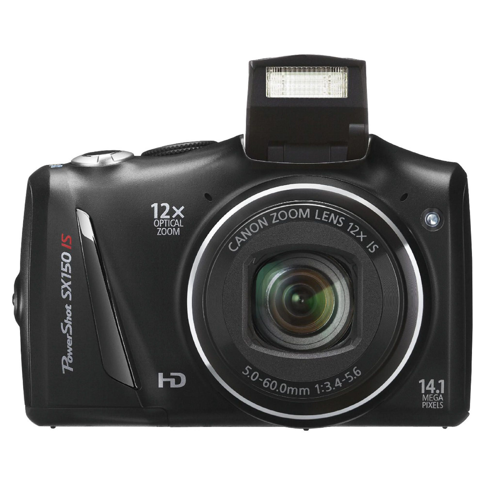 Canon Powershot SX150 IS Digital Camera Black