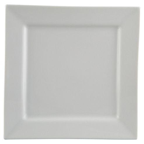 Square Super White Porcelain Side Plate