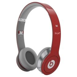 Beats by Dr Dre Solo HD Project RED Headphones with with ControlTalk - Red