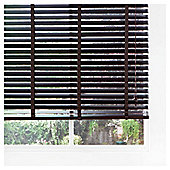 Wood Venetian Blind Pure Mocha 90cm 50mm slats