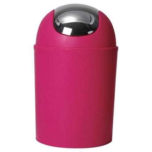 Tesco Plated Bin - Pink