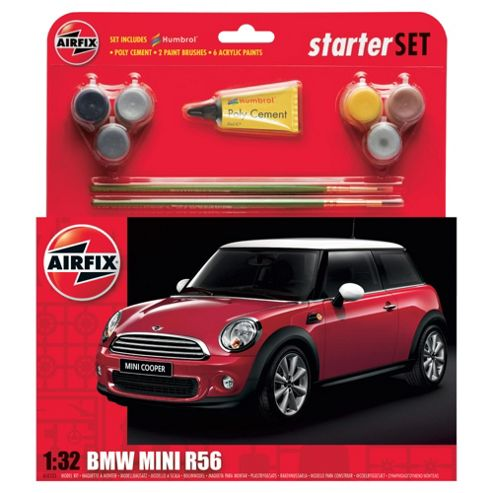 Airfix A50125 Bmw Mini 1:32 Scale Street Car Gift Set Including