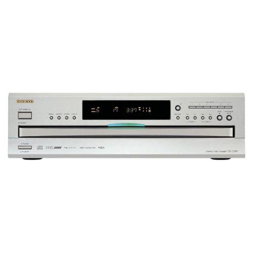 Onkyo Dxc390 6 Disc Cd Player (Silver)