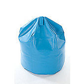 Kaikoo Kids Faux Leather Beanbag, Blue