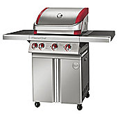 MasterChef Contender Stainless Steel 3 Burner Gas BBQ