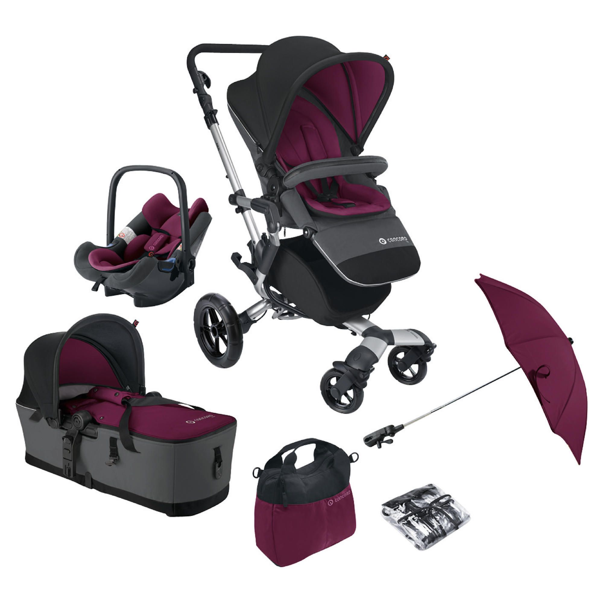 Concord Travel System Neo Mobility Set, Candy at Tesco Direct