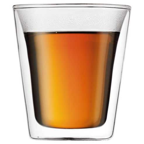 Bodum Canteen Set of 2 0.2L Double Walled Glasses