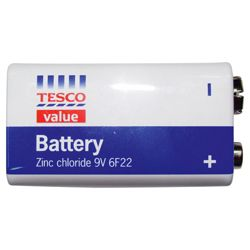 Tesco 9V Value Battery