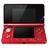 Nintendo 3DS -Metallic Red