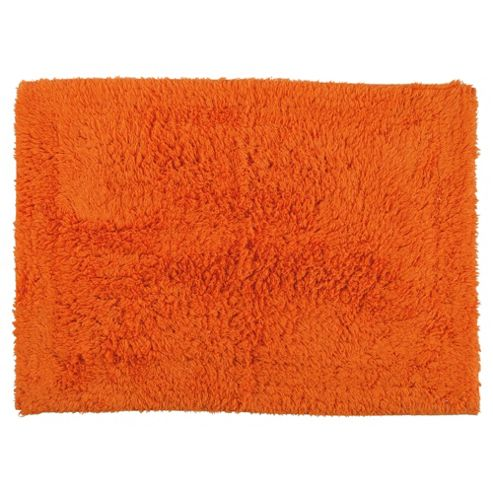 Tesco Bath Mat Orange