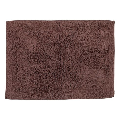Tesco Bath Mat Dark Natural