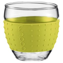 Bodum Pavina Set of 2 0.35L Glasses, Lime.