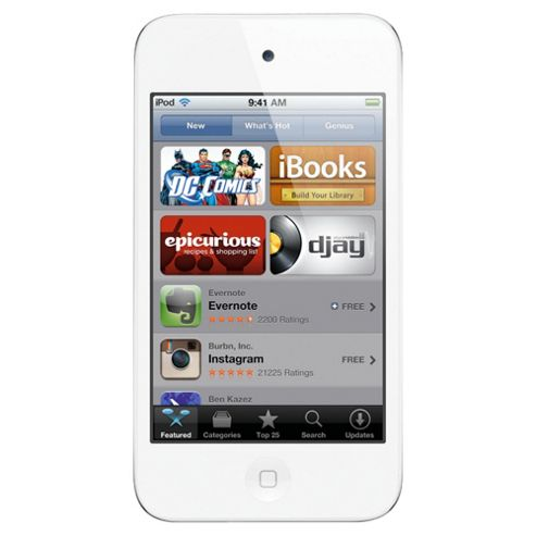 Apple 32GB 4th Generation touch iPod White