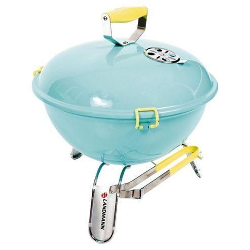 Landmann Piccolino Portable Charcoal BBQ, Turquoise 31375