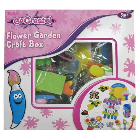 Go Create Princess & Flower Garden Box of Craft