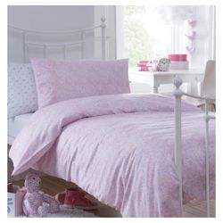 Little Boutique Hundreds And Thousands Duvet Set Pink Single