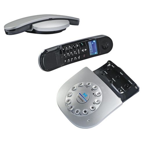 Magicbox Capricorn Twin Silver Designer DECT Telephone