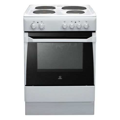 Indesit Is60Ew White Single Electric Cooker