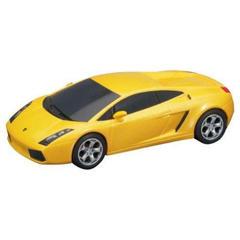 Scalextric C2810 Lamborghini Gallardo Yellow 1:32 Scale Super Resistant Slot Car