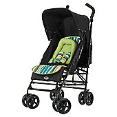 Obaby Atlas V2 Stroller & Footmuff, Lime Stripe