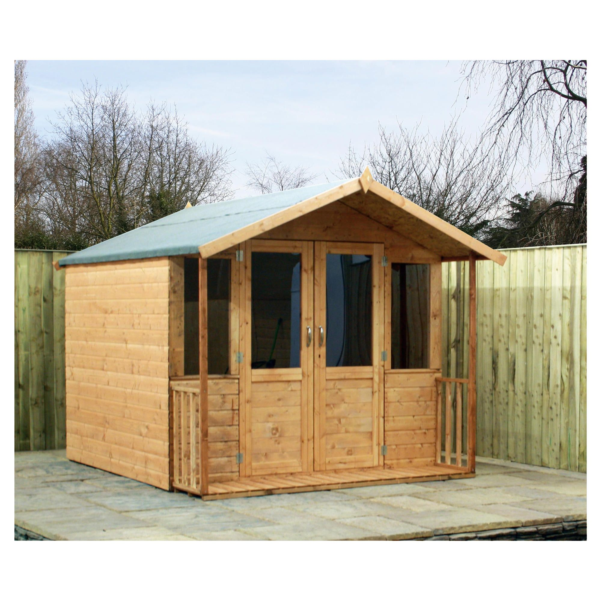 8x7 Bournemouth Summerhouse at Tesco Direct